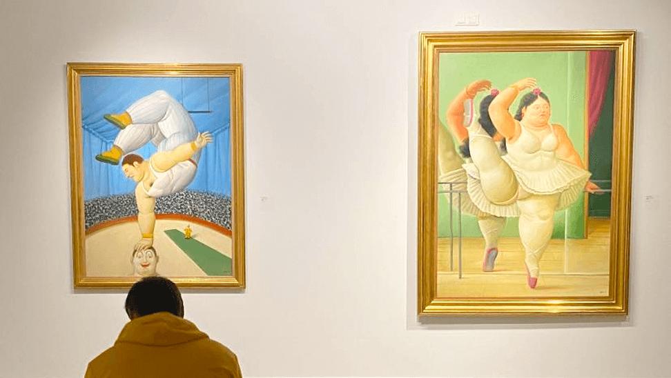 2 schilderijen van Fernando Botero